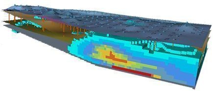 Contamination 3D mapping with Kartotrak