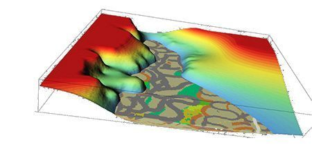 Modeling of turbiditic environments with Isatis