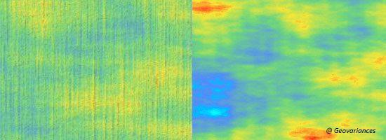 Seismic filtering with Isatis