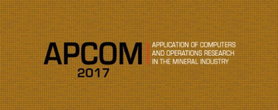 Geovariances will be at APCOM 2017