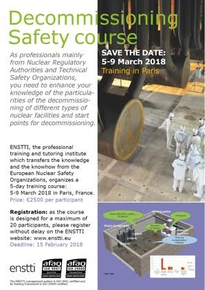 enstti - decommissioniong safety course - march 2018