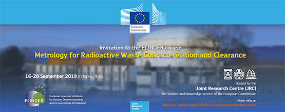 ELINDER Specific Course in Metrology for Radioactive Waste Characterisation and Clearance