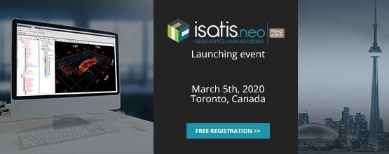Isatis.neo - Launching Event - Toronto, March 5, 2020