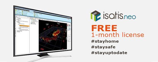 Isatis.neo 1-month free license