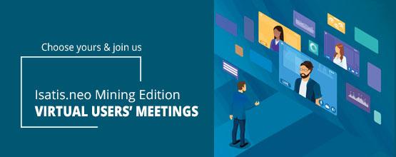 Isatis.neo Mining Edition virtual meeting