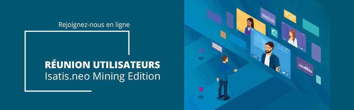 Isatis.neo Mining - Online Users' Meetings 2020