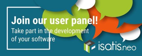 Isatis.neo User Panel